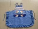 义乌罩衣围裙生产厂家 袖套 工作服 大褂迷彩 广告围裙