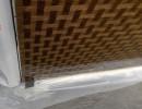 白色或茶色竹编玻璃原片茂隆供应