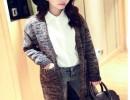 秋季新款女装批发韩版宽松蝙蝠袖大码针织衫毛衣批发市场