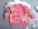 韩版童装开衫外套批发秋季新款厂家直销童装双面绒外套批发
