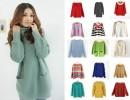 女装新款外贸针织毛衣 韩版套头女式时尚毛衣 地摊爆款便宜批发
