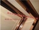 供应201玫瑰金不锈钢装饰线条  厂家直销不锈钢装饰线条