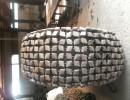 神农架加强耐磨型20装载机轮胎保护链 20铲车防滑链