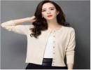 尚品女装2014冬装新款时尚韩版纯色套头针织毛衣 尾货折扣批