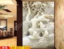 彩雕背景墙3D打印机 河南瓷砖装钸画彩印机 电视背景墙万能打
