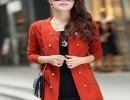 武汉最好的秋装新款女装中长款针织开衫品牌推荐