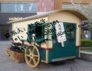 小吃售卖亭售卖亭模型木质售卖亭