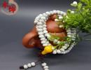 【木质工艺品】木质工艺品高密星月菩提干磨正月藏式桶珠108颗手串佛珠手串饰品