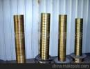 莱芜金冠塑机供应聚乙烯PE/PVC塑料管材合金铜定径套