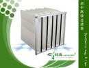 高效合成纤维热熔内衬袋式过滤器、白色高超波袋式过滤器 热压袋