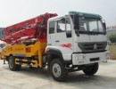 荆州客户购买26米-31米混凝土泵车来厂家直接提车