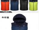 定做羽绒丝绵马甲 ◙北京毛线马甲针织背心厂家