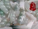 【手工雕刻】随玉而安批发纯手工雕刻缅甸玉翡翠A货四季豆镇平玉器玉石