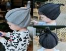 【针织毛线帽子】批发秋冬韩国儿童尖尖帽宝宝针织毛线帽子护耳潮南瓜帽风车帽