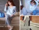 【女秋冬】加盟女秋冬新品时尚棉毛裤也不会被发现的针织实用半裙黑色灰色