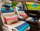 【汽车坐垫】英伦TX4新美日SC3金刚三厢世嘉四季通用可爱卡通女汽车坐垫批发