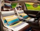 【世嘉】吉利金刚代新帝豪两厢海景世嘉四季通用可爱卡通女汽车坐垫批发