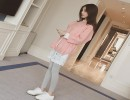 流行修身针织上衣批发纯色紧身打底针织女装批发韩版毛衫毛衣批发