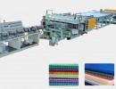 PVC波浪瓦设备 PVC管材挤出机PE碳素螺线管生产线