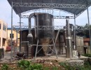 石灰气流干燥机 炭黑气流干燥机 气流喷雾干燥机