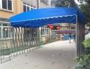 广东室外遮阳广告棚 户外广告棚制作安装