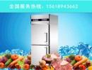 星星立式冷冻柜二门冰箱厨房酒店设备D500E2上门保修
