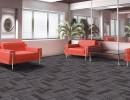 广州白云区方块毯尼龙地毯条形PVC底方块地毯