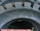 现货供应叉车轮胎实心轮胎5.00-8全新正品