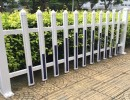 pvc塑钢护栏草坪栅栏小区围栏