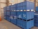 河南厂家生产工业金属周转箱 钢制料箱 结实耐用 可折叠堆垛