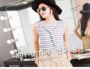 夏季女装条纹披肩假两件上衣女夏清凉学生雪纺衫女士t恤