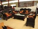 正宗老挝红酸枝订做的办公沙发 拆房老料