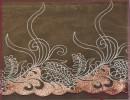 大花刺绣锦纶丝内衣辅料 口罩袖套蕾丝水溶花边
