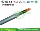 柔性PVC屏蔽双护套控制电缆 机床加工信号电缆 3芯控制信号