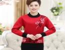 广州大朗韩版尾货中老女式毛衣针织便宜批发