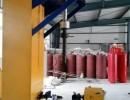 七氟丙烷消防气瓶检测设备 立式瓶阀装卸 干燥清洗机 3C认证