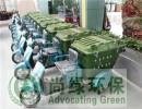 手推式环卫车,长沙尚绿环保(图),实心轮胎环卫车