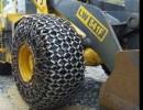 花岗岩矿耐磨王装载机轮胎保护链超耐磨装载机防滑链谁用谁知道