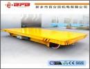 压塑机模具搬运地轨电动平板车  20t轨道电动平车