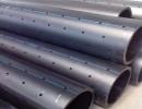 PE100级 PE打孔渗透管 给水管 雨水收集管材厂家