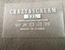 厂价定做童装热转印 针织衫环保无毒logo耐洗烫唛 质量