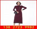 新款羊绒衫批发 100纯羊绒长裙批发档口女装厂家直销