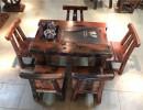 船木家具茶台,实木茶桌椅组合。老船木小型阳台泡茶茶桌,功夫茶