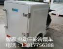电动三轮冷藏冷冻货车