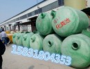 玻璃钢化粪池家用污水池 生活污水处理模压组合式化粪池