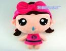 芬腾家居服定制吉祥物  可爱娃娃毛绒玩具 企业专属订制 来图