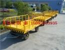 实心轮胎拖车,10T大吨位运输拖车,平板运输车,厂区车,10