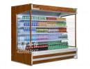 生鲜超市|冷藏水果|蔬菜展示|风幕柜两米长的2米弧形点菜柜