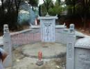 水泥制品高仿石材装饰坟墓、墓碑石、陵园及模具