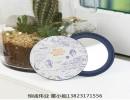 新化妆镜uv打印机_新一代个性工艺品彩印机6色pvc小镜子印花机